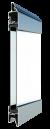 Standardne kogu ulatuses läbinähtav paneel FULL VIEW, matt
