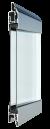 Thermo kogu ulatuses läbinähtav paneel FULL VIEW, läbipaistev