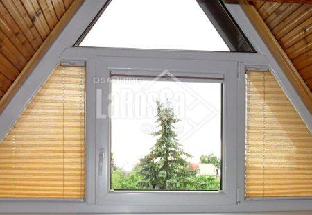 , Plisseeritud žalusiid kolmnurksetele akendele – 9 tüüp, Larossa - Uksed24.ee