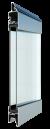 Standardne kogu ulatuses läbinähtav paneel FULL VIEW, läbipaistev