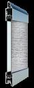 Standardne kogu ulatuses läbinähtav paneel FULL VIEW, härmas