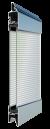 Standardne kogu ulatuses läbinähtav paneel FULL VIEW, polükarbonaat